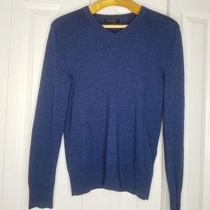 BANANA REPUBLIC Merino Wool Blue Sweater M